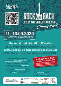 Rock am Bach - Rock & Pop-Samstag